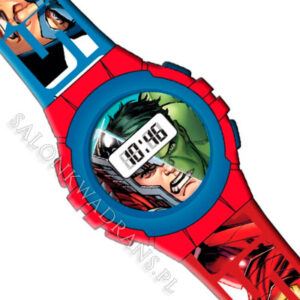 Zegarek Avengers - Iron Man Kapitan Ameryka Thor Hulk