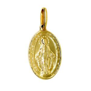 Złoty Cudowny Medalik zawieszka 585 14K ZZW136
