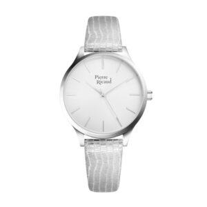 Pierre Ricaud P22060.5S13Q Zegarek damski srebrny szary
