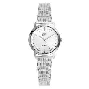Pierre Ricaud P51091.5113Q Zegarek damski mesh srebrny