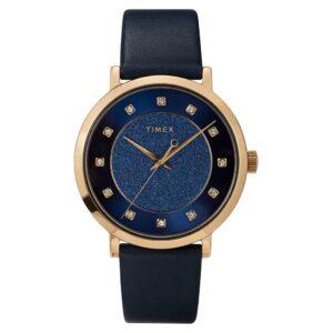 Timex TW2U41100 Celestial Opulence Zegarek damski niebieski